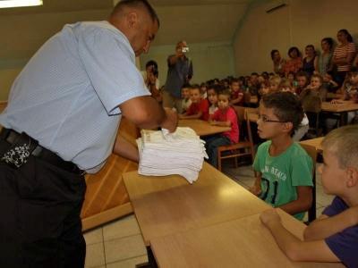 Gradonačelnik s Goranovim prvašićima